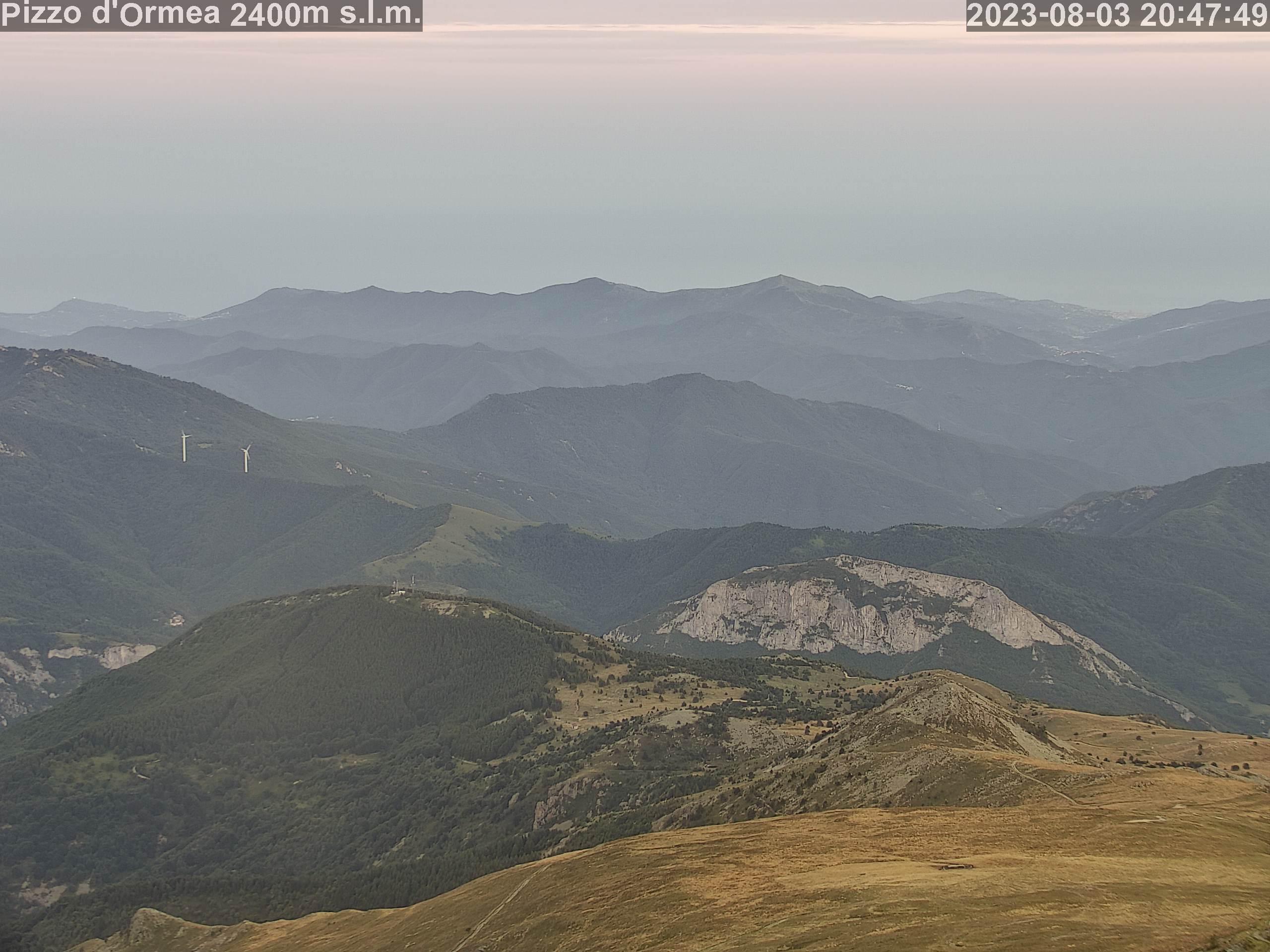 Webcam IR1DD Pizzo di Ormea Alpi Liguri